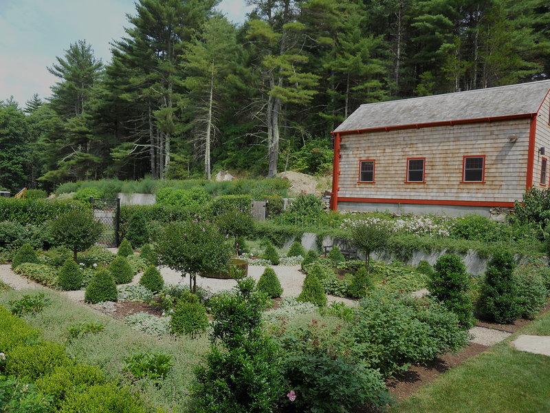 Glocester Parterre Andrew Grossman Landscape Design