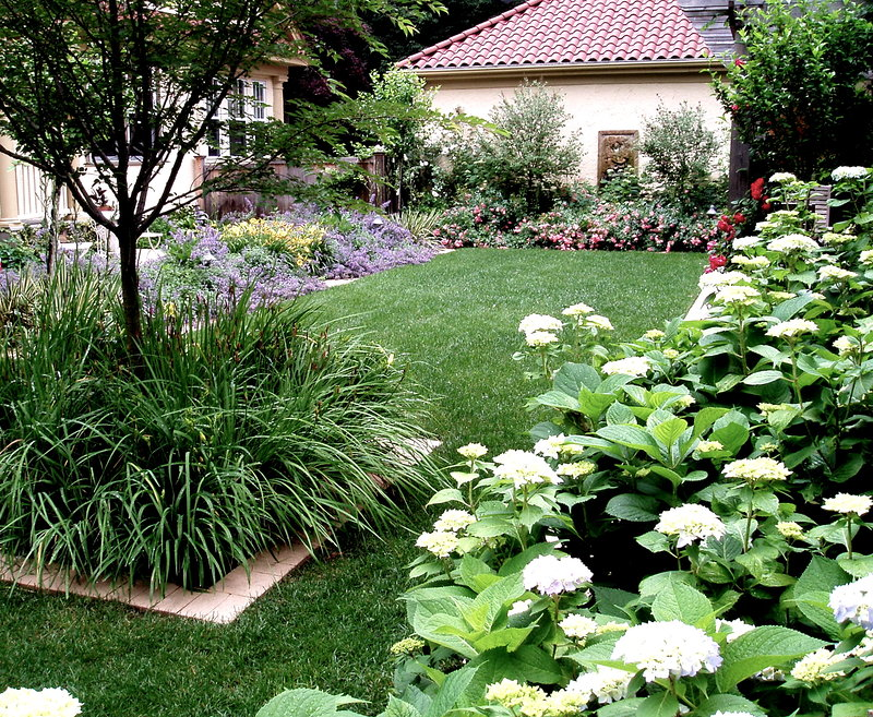 Spanish Style Backyard Andrew Grossman Landscape Design